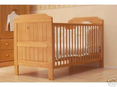 Alex Solid Pine Cot Bed