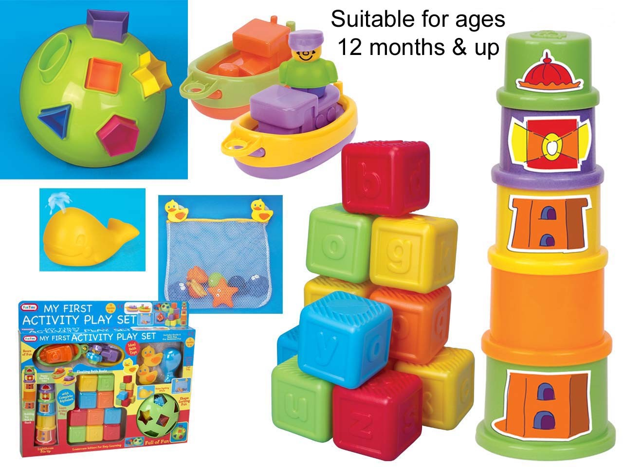 New My First Activity Play Set 5PC Toy Learning Toys